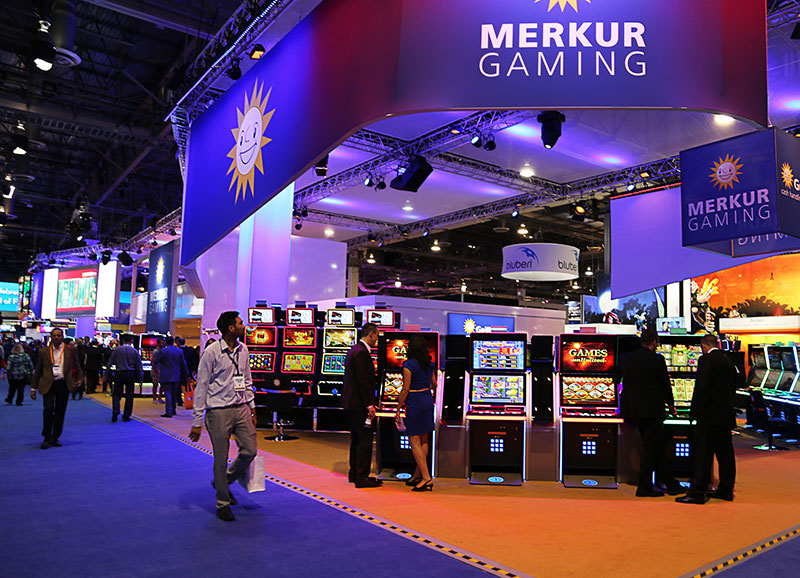 Merkur Gaming brings a games landscape to G2E