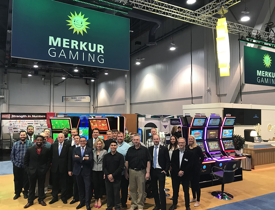 New games A standout NIGA success for Merkur