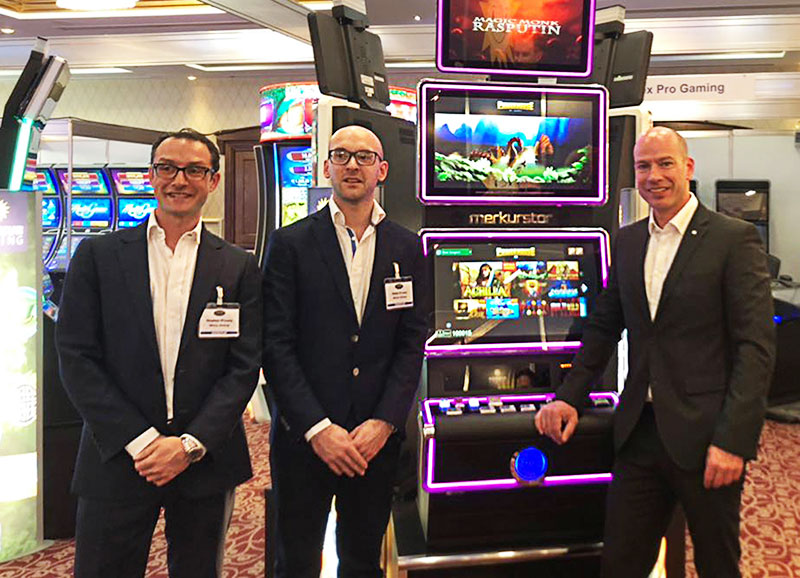 Merkur Gaming's Evostar celebrates premiere in Ireland – Successful presentation at the Irish Gaming Show